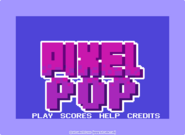 Pixel Pop menu