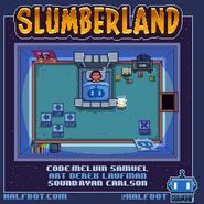 Slumberland menu