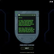 Test Subject Green - Message 5
