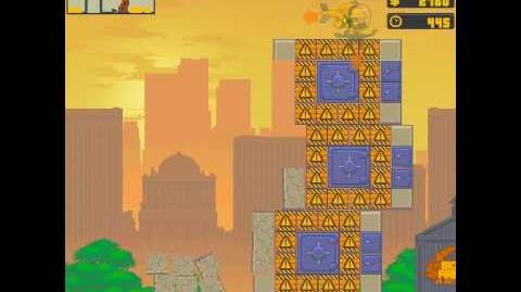 Nitrome - Rubble Trouble Last Level Ending