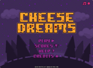 Cheese Dreams menu
