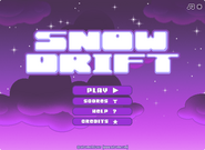 Snow Drift menu