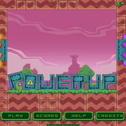 Powerup-menu