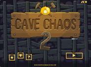 Cave Chaos 2 menu