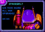 Spacegirl unlock