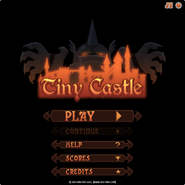 Tiny Castle menu