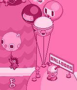 Classic balloon seller brain