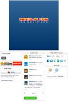 Miniclip Game Page Design