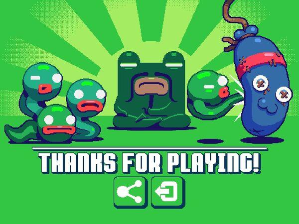 Green Ninja ending