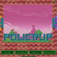 Powerup menu