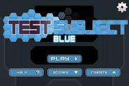 NT Test Subject Blue Menu