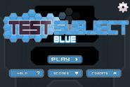 NT Test Subject Blue Menu