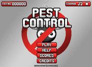 Pest Control menu