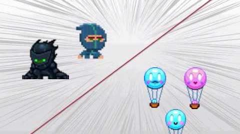 Battle of the Week - Ninjas vs. Balloons