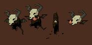 Cave troll frames