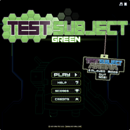 Test Subject Green menu