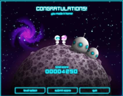 Space hopper ending