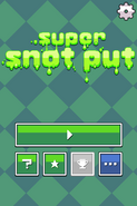 Super Snot Put Titlescreen