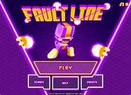 Fault Line menu