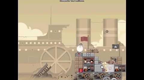 Nitrome avatars - Sandman sleepwalker (Steamlands)