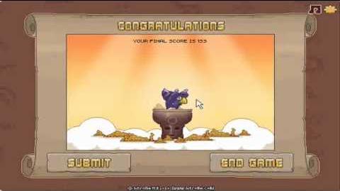 Nitrome Temple Glider Level 20 Last Level