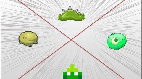 Battle of the Week - Green slime battle!