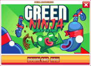 Green Ninja advertisement
