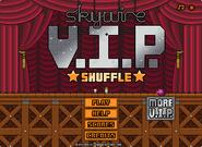 Skywire V.I.P. Shuffle menu