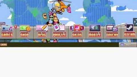 Nitrome avatars - Nitrome Boss princess (Stumped)