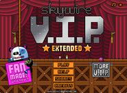 Skywire V.I.P. Extended menu