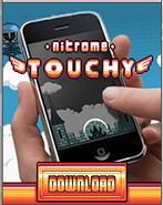 Magica Touch Nitrome Touchy Advertisement