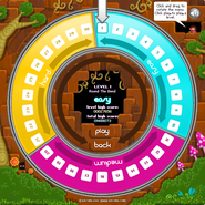 Roly Poly - Level select screen
