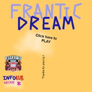 Frantic Dream menu