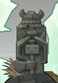 Icebreaker skin - Cuboy statue