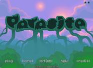 Parasite menu