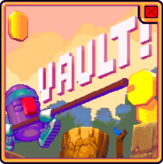 Vault advertisement Cooped Up