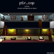 Psy Cop menu