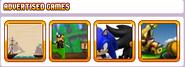 Advertised Games