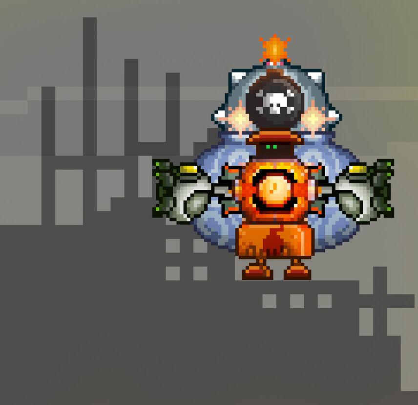 Apocalyptic Clock Robot