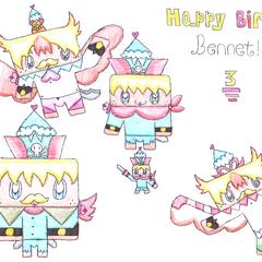 Bennet's Third Birthday!!!!:D