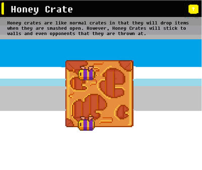 SSN Honey Crate