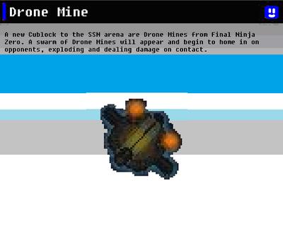 SSN Drone Mine