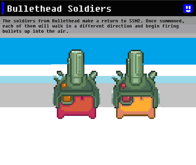 SSN Bullethead Soldiers