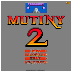 The title screen as seen with no background.