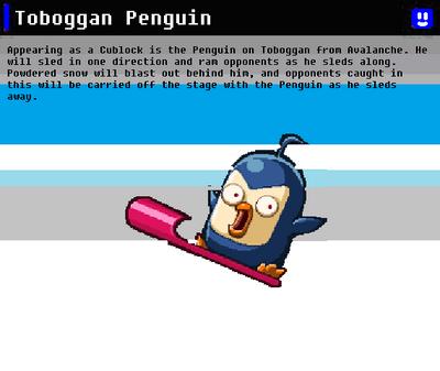SSN Toboggan Penguin