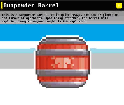 SSN Gunpowder Barrel
