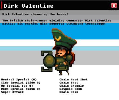 SSN Dirk Valentine