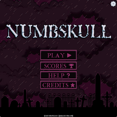 Numbskull menu whit the settings cog