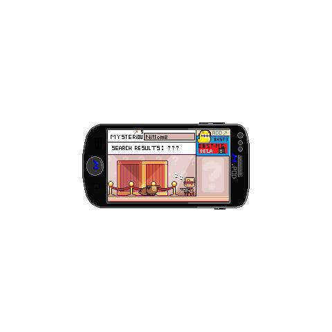 mPhone running TMUnet browser