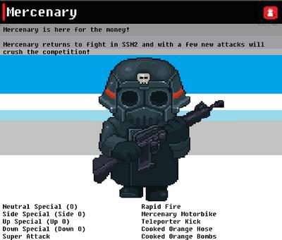 SSN Mercenary